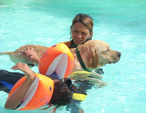Pet therapy - Associazione Dei dell'acqua onlus
